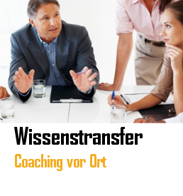 Coaching von Wissenstransfers